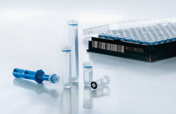 "Image: The new, automation-friendly ""Cryo.s"" biobanking tubes from Greiner Bio-One are suitable for reliable long-term and high-throughput storage of valuable samples (Photo courtesy of Greiner Bio-One)."