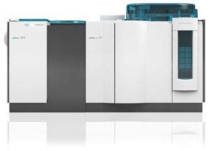 Image: the cobas 6000 analyzer series with the cobas e 601 immunoassay module, one of the three analyzers for which the Elecsys Anti-HBc IgM Premarket Approval Application (PMA) was submitted (Photo courtesy of Roche).